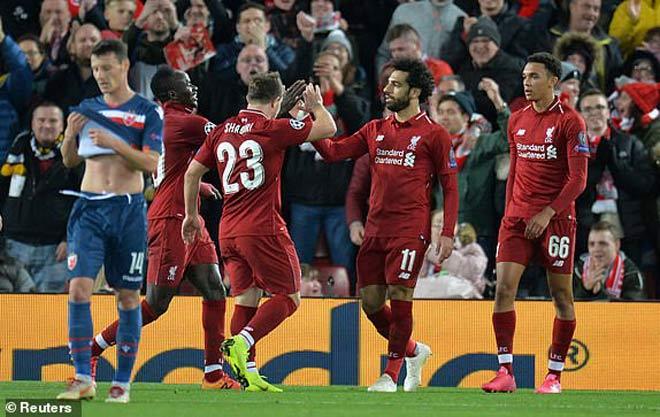 Liverpool - Sao Đỏ Belgrade: Salah rực rỡ và đại tiệc hoành tráng - 1