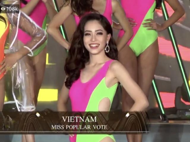 Bị ngộ độc, chuẩn bị gấp, Phương Nga vẫn lọt Top 10 Hoa hậu Hòa bình