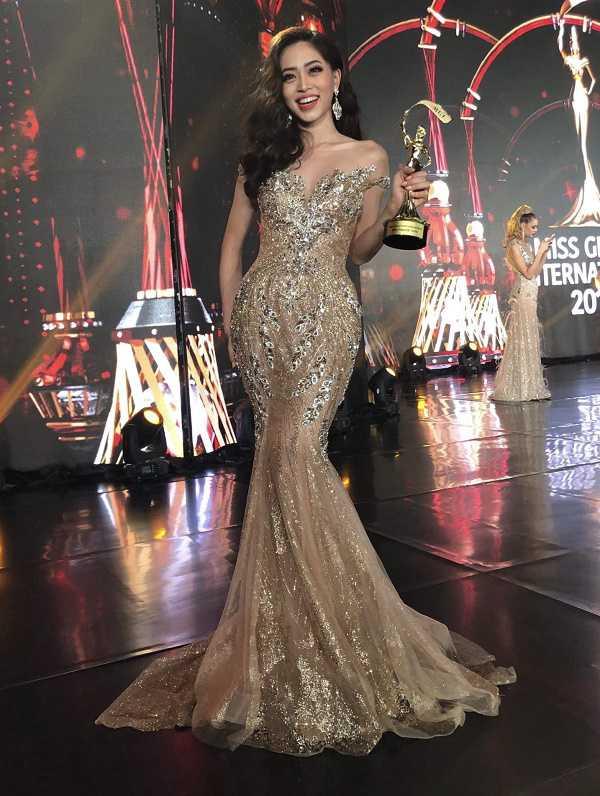 Bị ngộ độc, chuẩn bị gấp, Phương Nga vẫn lọt Top 10 Hoa hậu Hòa bình - 1