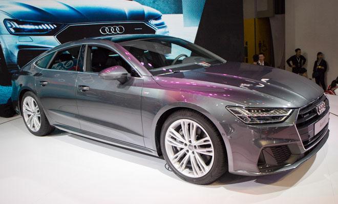 Cận cảnh Audi A7 Sportback 2019 giá 3,8 tỷ đồng tại Việt Nam - 2