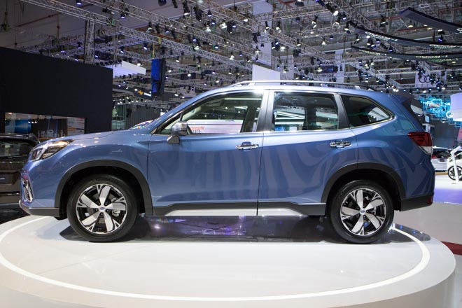 Subaru Forester STI lộ diện trước ngày ra mắt chính thức - 6