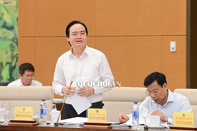 Ủy ban của Quốc hội đánh giá về kỳ thi '2 trong 1' - 1
