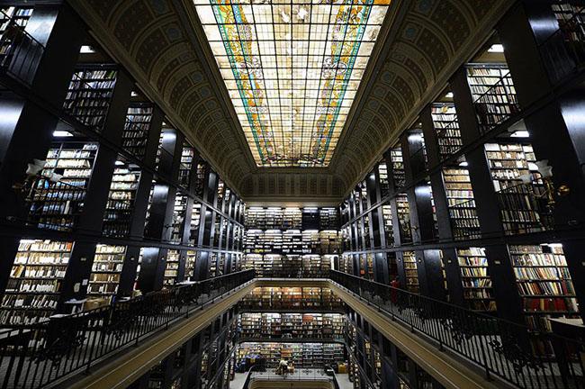 Choáng ngợp với những thư viện đẹp nhất thế giới - 1