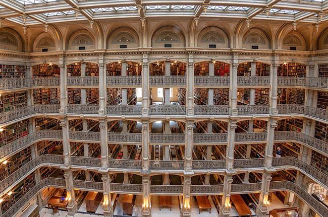Choáng ngợp với những thư viện đẹp nhất thế giới - 15