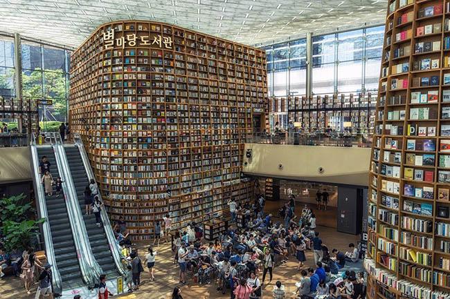 Choáng ngợp với những thư viện đẹp nhất thế giới - 2