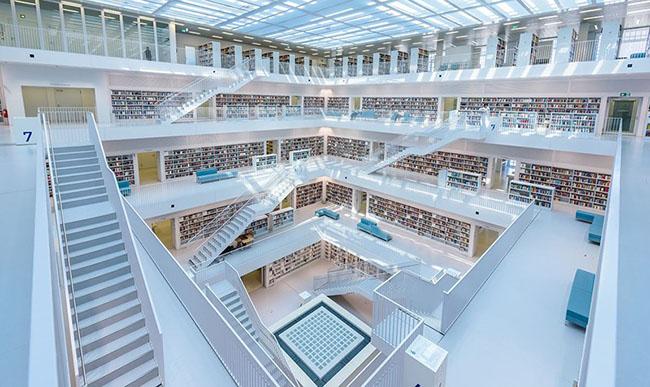 Choáng ngợp với những thư viện đẹp nhất thế giới - 3