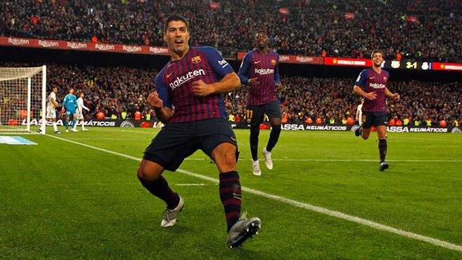"""Góc chiến thuật Barca - Real: """"Hùng thần"""" Suarez & Siêu kinh điển một chiều - 2"""