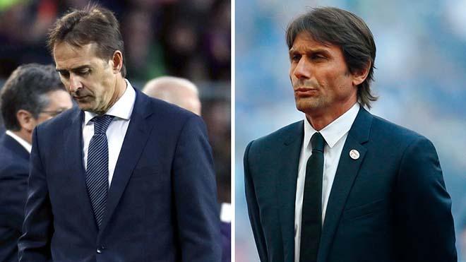 Real thua thảm Siêu kinh điển: Lopetegui tạm biệt, bổ nhiệm Conte hôm nay? - 2