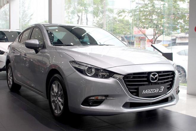 Giá xe Mazda 2018 cập nhật mới nhất tháng 11/2018: Giá bán chỉ từ 529 triệu đồng - 2