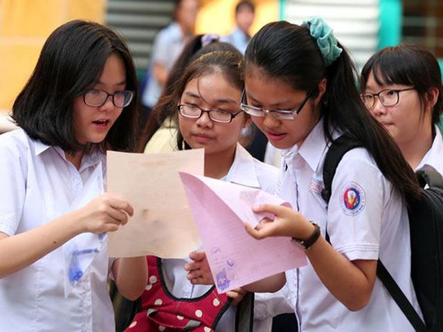 Hà Nội công bố đề thi tham khảo kỳ thi vào lớp 10 - 1