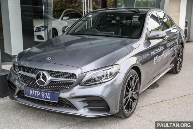 Mercedes-Benz C200 và C300 AMG Facelift 2019 sắp ra mắt tại Việt Nam - 3