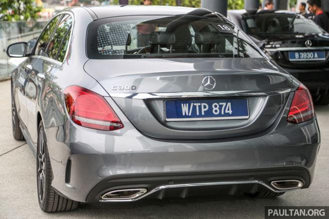 Mercedes-Benz C200 và C300 AMG Facelift 2019 sắp ra mắt tại Việt Nam - 4