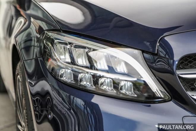 Mercedes-Benz C200 và C300 AMG Facelift 2019 sắp ra mắt tại Việt Nam - 2