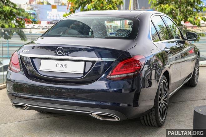 Mercedes-Benz C200 và C300 AMG Facelift 2019 sắp ra mắt tại Việt Nam - 7