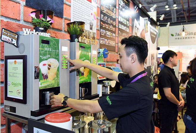 """Chiếc máy """"thần thánh"""" giúp pha ly trà sữa chuẩn vị Đài Loan trong nháy mắt - 3"""