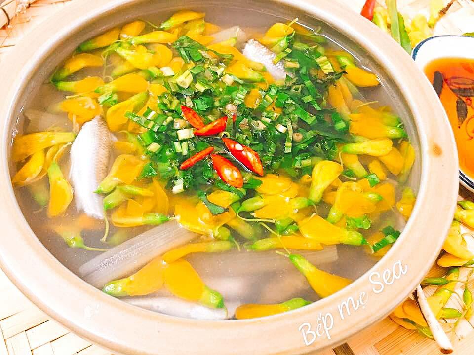 Canh chua cá linh thanh mát ăn là mê - 1
