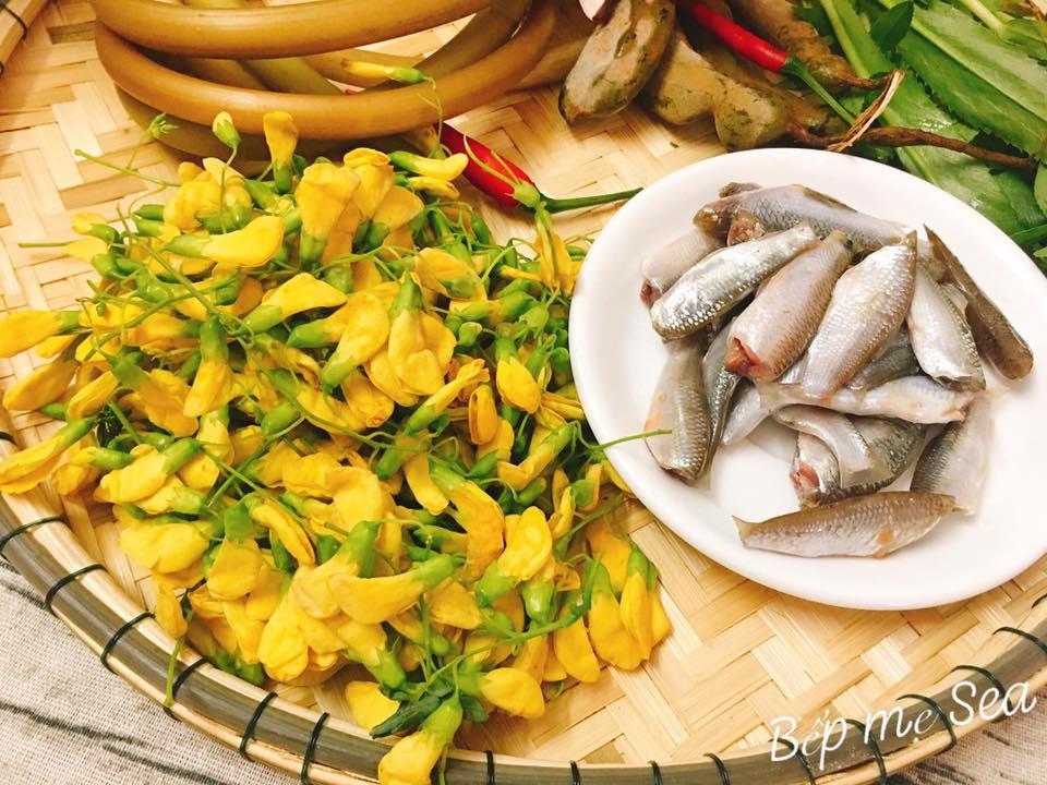 Canh chua cá linh thanh mát ăn là mê - 2
