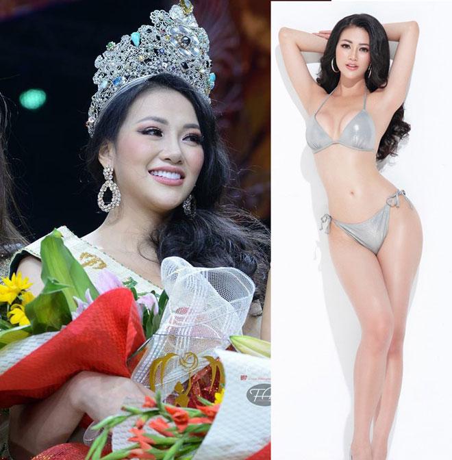 """Hoa hậu Trái đất Phương Khánh """"hành xác"""" bằng nẹp sắt để có eo 58m - 1"""