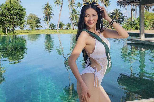 """Hoa hậu Trái đất Phương Khánh """"hành xác"""" bằng nẹp sắt để có eo 58m - 9"""