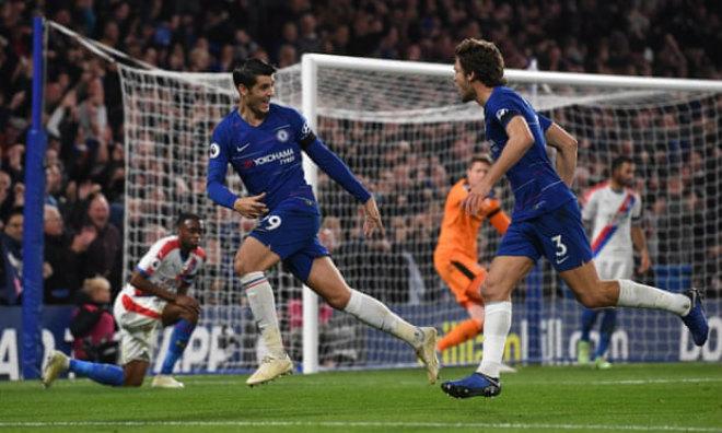 Chấm điểm siêu sao V11 Ngoại hạng Anh: Morata đấu kỷ lục gia Aguero - 2