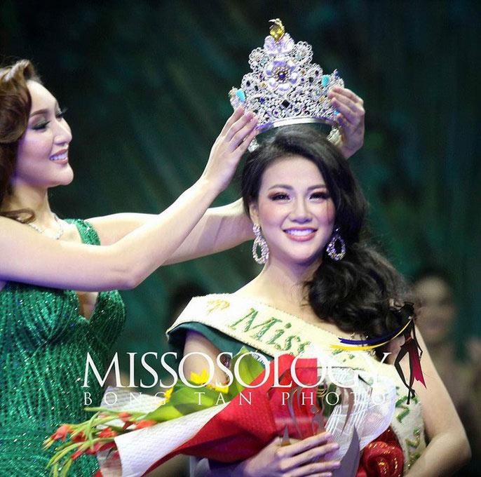 Đăng quang Hoa hậu Trái đất 2018: Nhan sắc Việt lên ngôi - 1