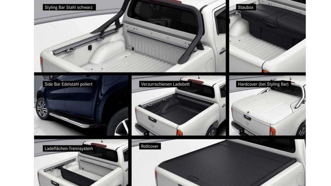 Mercedes-Benz X-Class bổ sung thêm gói trang bị đặc biệt, hơn 100 màu sơn ngoại thất - 4