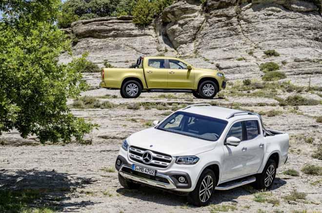 Mercedes-Benz X-Class bổ sung thêm gói trang bị đặc biệt, hơn 100 màu sơn ngoại thất - 8