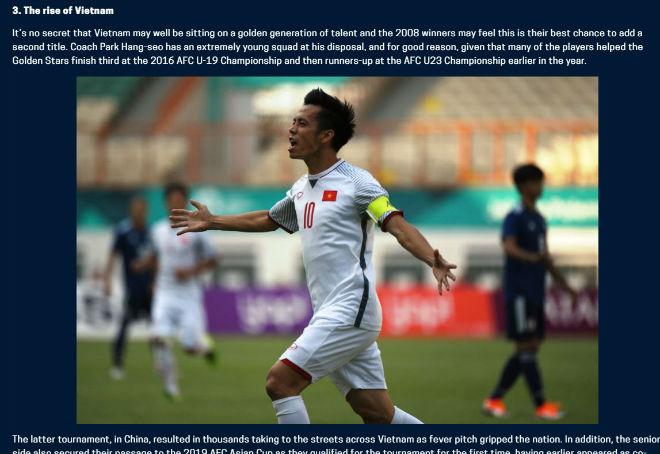 """Báo quốc tế gọi Việt Nam là thế lực mới, dễ làm """"trùm"""" AFF Cup - 1"""