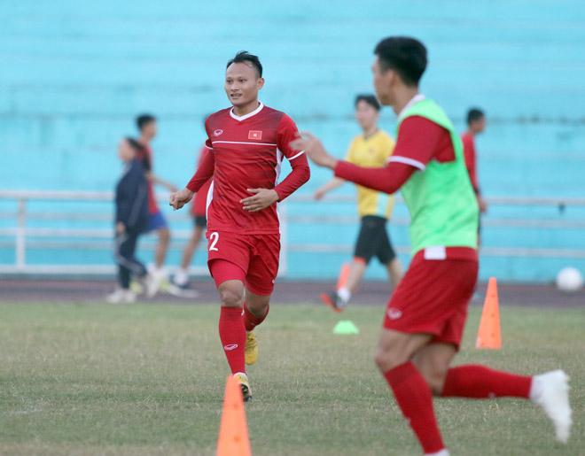 Trọng Hoàng khỏe như voi đá thay Văn Thanh: HLV Park Hang Seo tính kỹ - 1