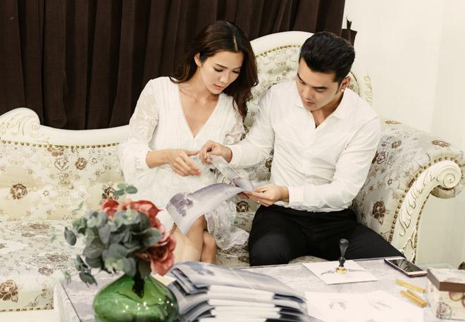 Lộ thiệp cưới cầu kỳ của Ưng Hoàng Phúc với người mẫu Kim Cương - 8