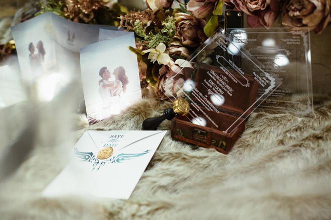 Lộ thiệp cưới cầu kỳ của Ưng Hoàng Phúc với người mẫu Kim Cương - 6