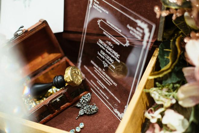 Lộ thiệp cưới cầu kỳ của Ưng Hoàng Phúc với người mẫu Kim Cương - 7