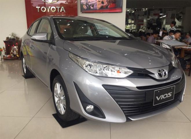 Giá xe Toyota Vios 2019 cập nhật Tháng 11 chỉ với 516 triệu tặng 2 năm bảo hiểm thân xe - 4