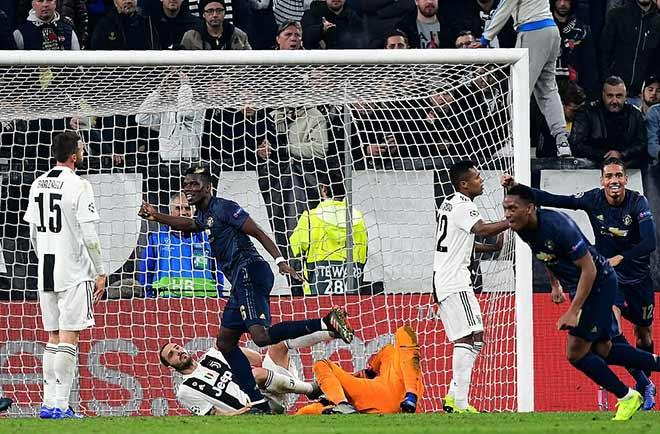 """MU ngược dòng """"phục hận"""" Juventus - Ronaldo: Thống kê kinh ngạc - 1"""
