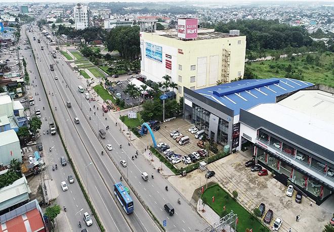 """Những """"điểm nóng"""" mới của thị trường Biên Hòa - 1"""