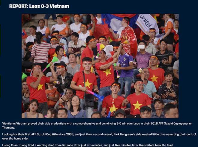 Việt Nam thắng Lào: Trang chủ AFF Cup khen Quang Hải, báo Thái chúc mừng - 3