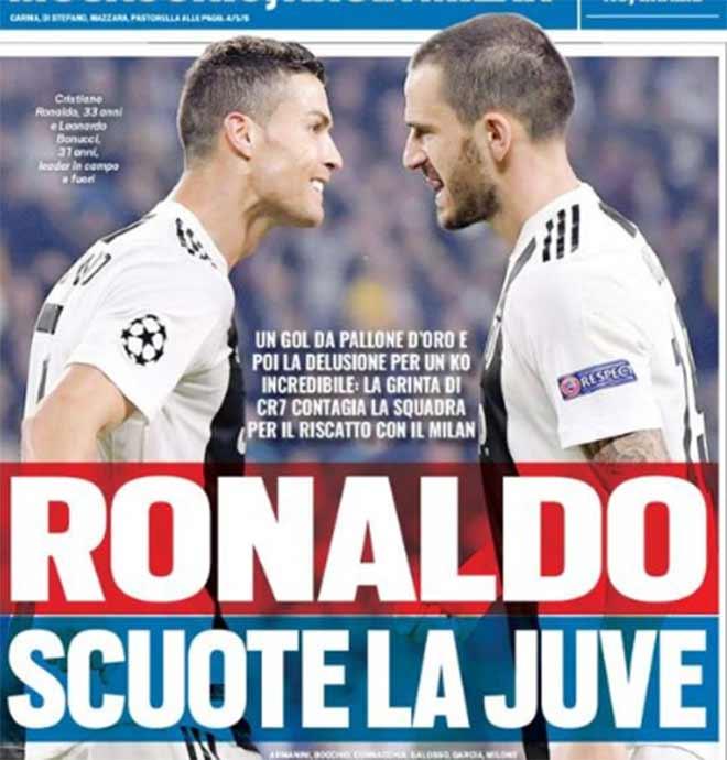 Juventus thua sốc MU: Ronaldo trách móc đồng đội, quyết hủy diệt Milan - 2