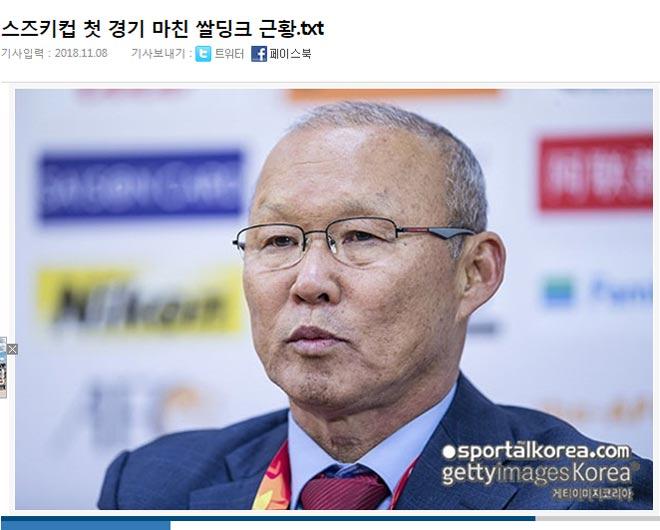 Báo Hàn Quốc: Phép thuật Park Hang Seo bắt đầu trình diễn, Việt Nam đáng gờm - 1