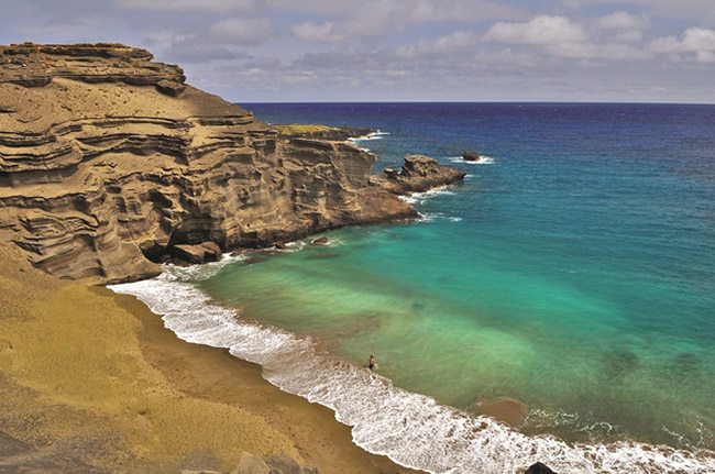 Những bãi biển tuyệt đẹp có màu cát kỳ lạ - 2