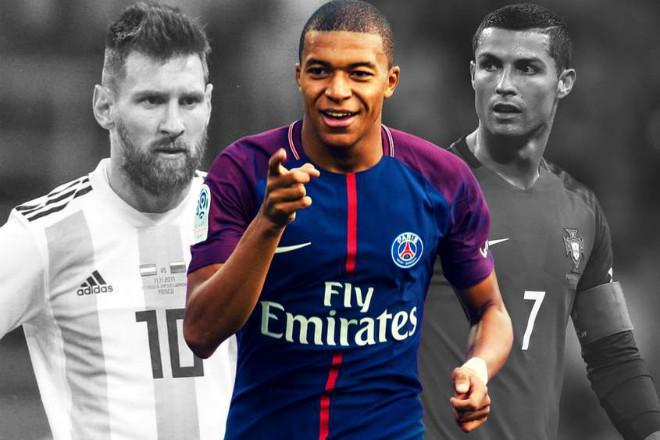 """Quả bóng Vàng 2018: """"Siêu thần đồng"""" Mbappe tự tin hạ gục Messi, Ronaldo - 1"""