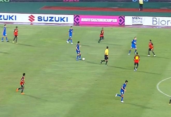 """Timor Leste - Thái Lan: Ngây ngất """"đại tiệc"""" 7 bàn của Nhà vua (AFF Cup) - 1"""
