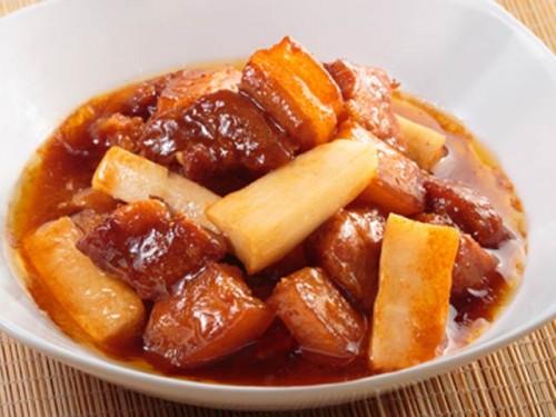 Thịt kho củ cải mềm thơm dụ cơm cả nhà - 4