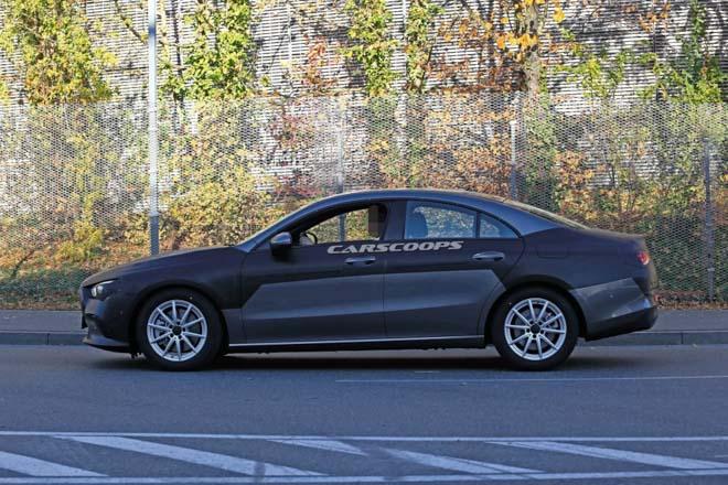 Mercedes-Benz CLA 2019 lộ hình ảnh chạy thử, dự kiến ra mắt cuối năm - 4