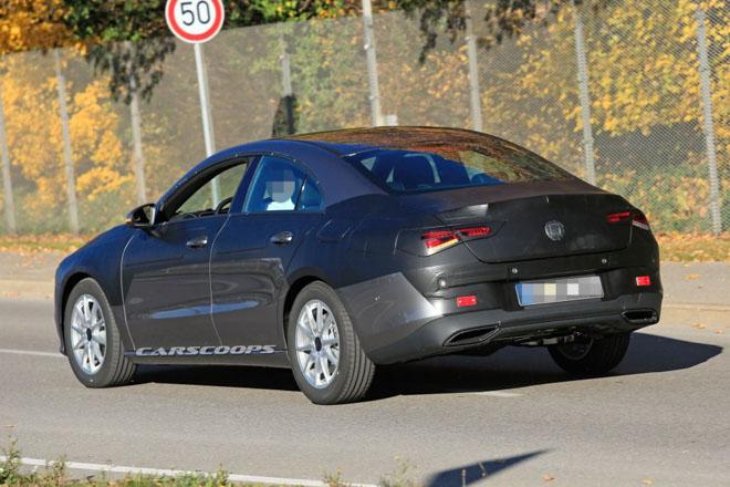 Mercedes-Benz CLA 2019 lộ hình ảnh chạy thử, dự kiến ra mắt cuối năm - 6