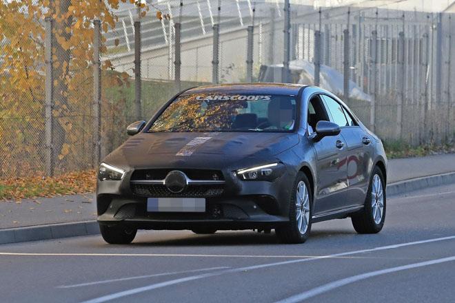 Mercedes-Benz CLA 2019 lộ hình ảnh chạy thử, dự kiến ra mắt cuối năm - 1