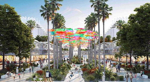 Hình ảnh tổng quan Dự án New City Phố Nối Hưng Yên