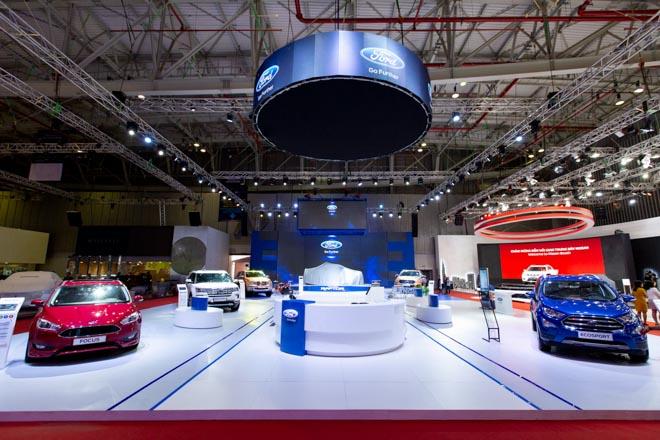 Gian hàng của Ford Việt Nam tại triển lãm ôtô VMS 2018