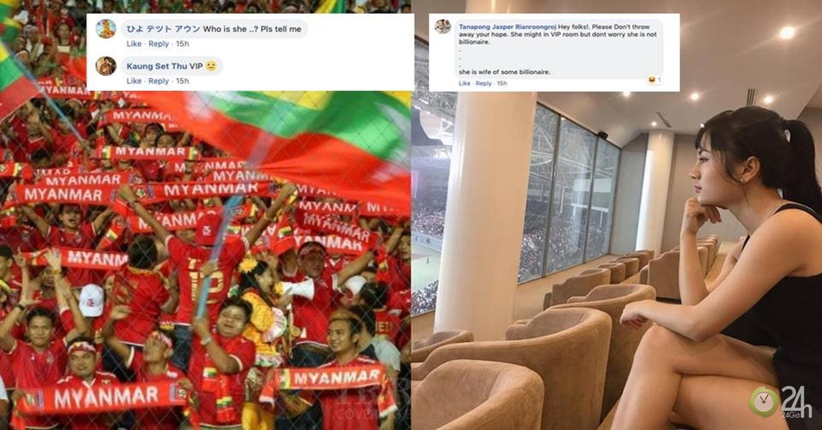 Nhan sắc vạn người mê của Nữ thần may mắn AFF Cup Myanmar