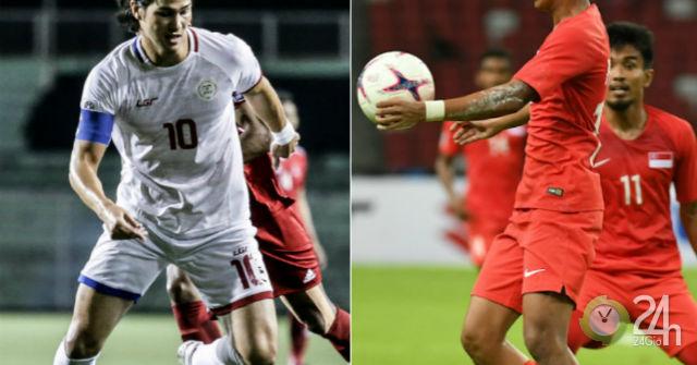 Trực tiếp bóng đá Philippines - Singapore: HLV Eriksson và SAO 92 tỷ đồng ra mắt