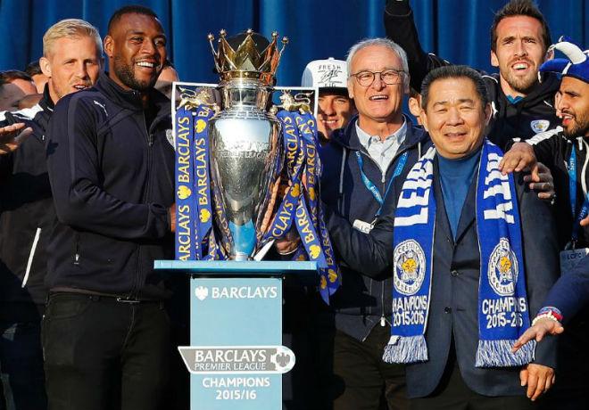 """MU thua Man City vẫn mơ vô địch Ngoại hạng: Chờ """"cổ tích"""" Leicester 2.0 - 3"""